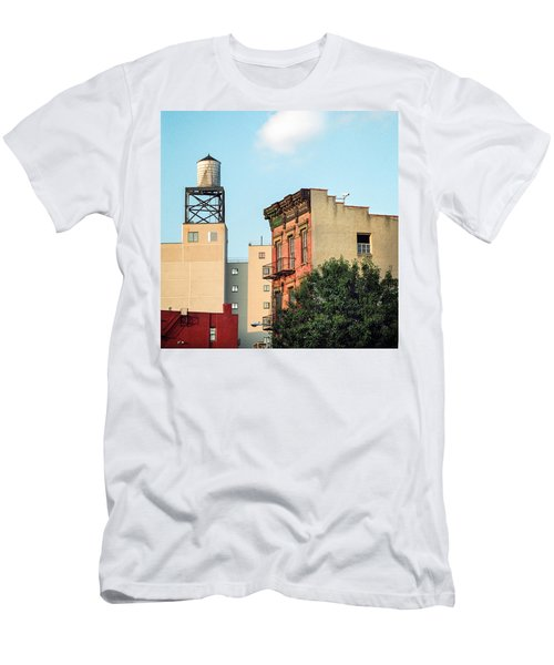 New York Water Tower 3 Men's T-Shirt (Athletic Fit)