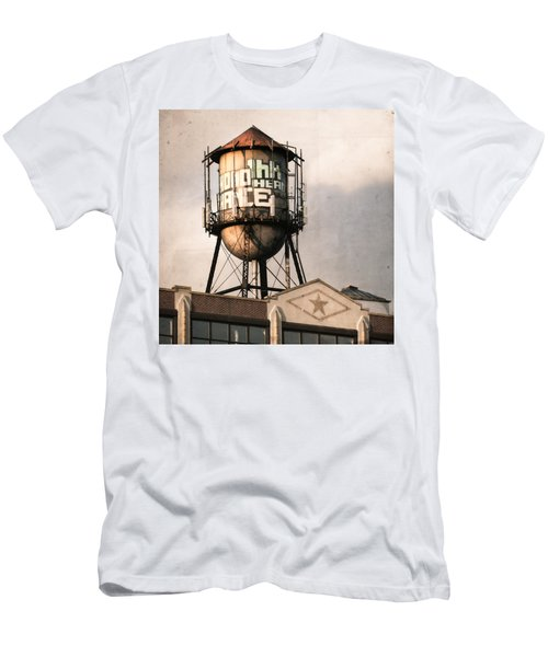 New York. Water Towers 6 Men's T-Shirt (Athletic Fit)