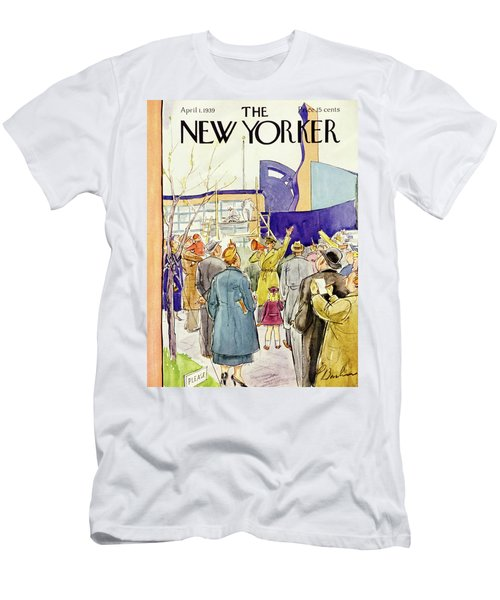 New Yorker April 1 1939 Men's T-Shirt (Athletic Fit)