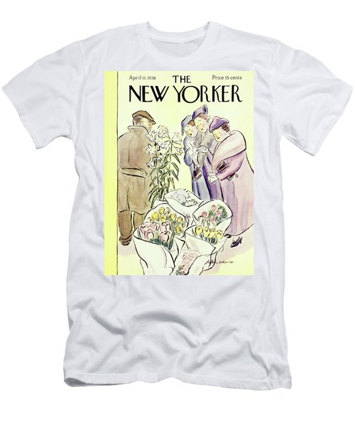 New Yorker April 11 1936 Men's T-Shirt (Athletic Fit)