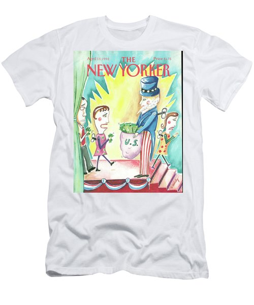 New Yorker April 13th, 1992 Men's T-Shirt (Athletic Fit)