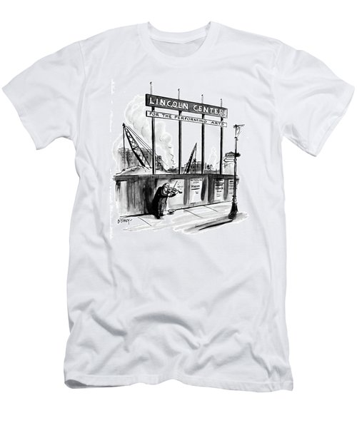 New Yorker April 16th, 1960 Men's T-Shirt (Athletic Fit)