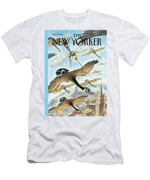 New Yorker April 17th, 2000 Men's T-Shirt (Athletic Fit)