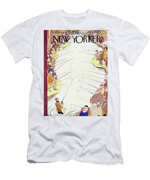 New Yorker April 18 1936 Men's T-Shirt (Athletic Fit)