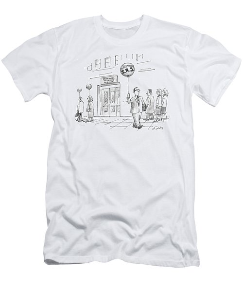 New Yorker April 20th, 1998 Men's T-Shirt (Athletic Fit)