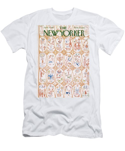 New Yorker April 21st, 1962 Men's T-Shirt (Athletic Fit)