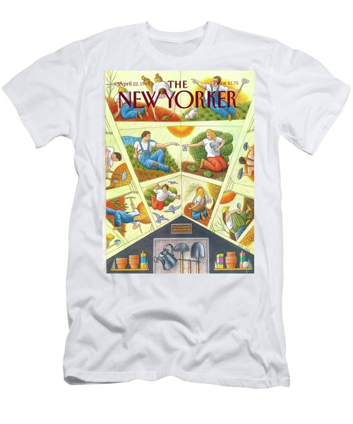 New Yorker April 22nd, 1991 Men's T-Shirt (Athletic Fit)