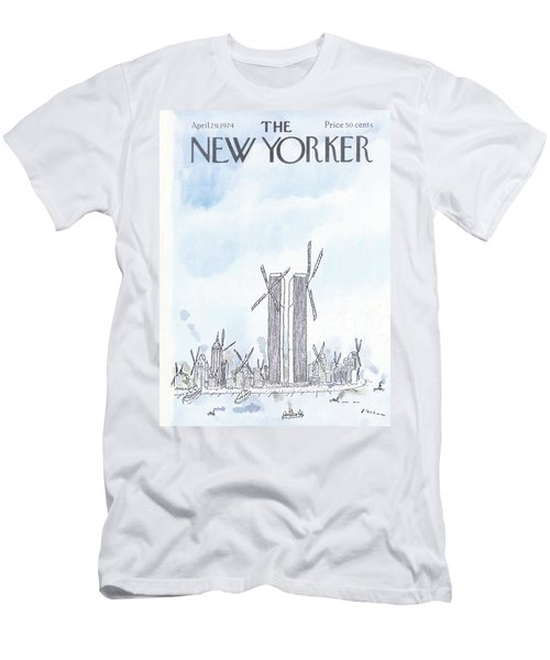 New Yorker April 29th, 1974 Men's T-Shirt (Athletic Fit)