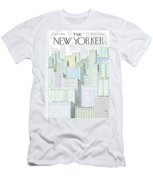 New Yorker April 2nd, 1966 Men's T-Shirt (Athletic Fit)