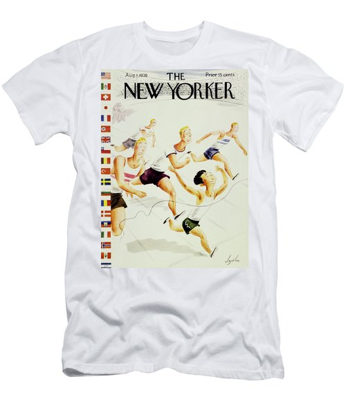 New Yorker August 1 1936 Men's T-Shirt (Athletic Fit)
