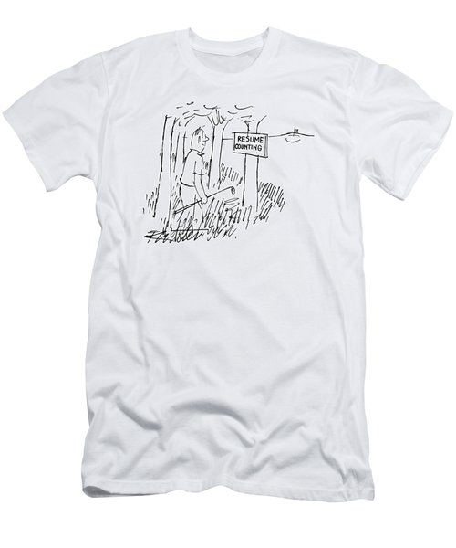 New Yorker August 13th, 1955 Men's T-Shirt (Athletic Fit)