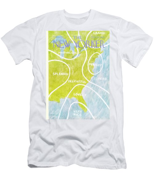 New Yorker August 13th, 1973 Men's T-Shirt (Athletic Fit)