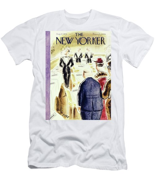 New Yorker August 17 1940 Men's T-Shirt (Athletic Fit)