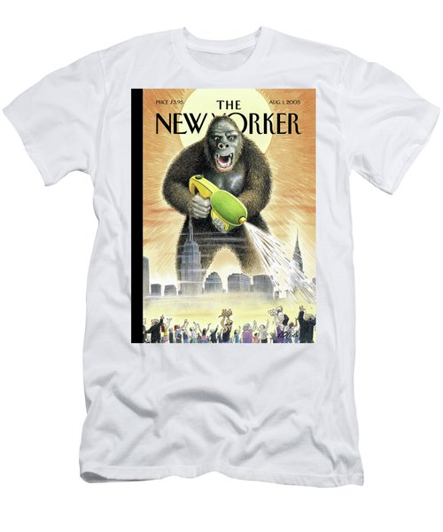 New Yorker August 1st, 2005 Men's T-Shirt (Athletic Fit)