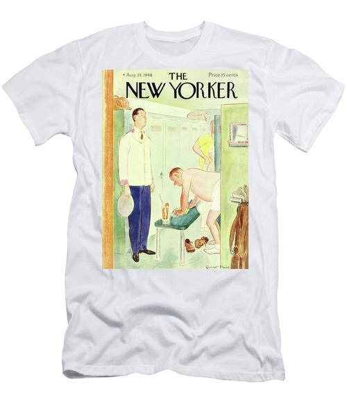 New Yorker August 24 1940 Men's T-Shirt (Athletic Fit)