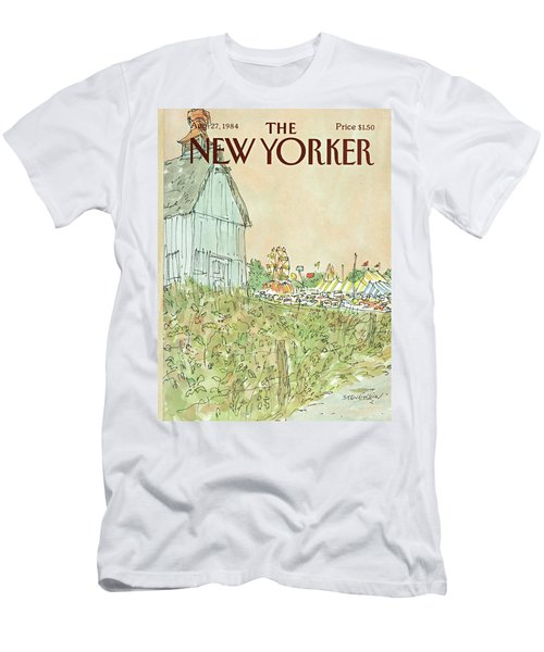 New Yorker August 27th, 1984 Men's T-Shirt (Athletic Fit)