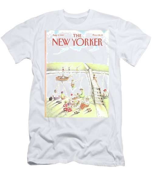 New Yorker August 2nd, 1982 Men's T-Shirt (Athletic Fit)