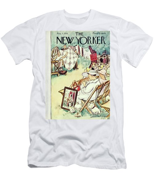 New Yorker August 3 1935 Men's T-Shirt (Athletic Fit)