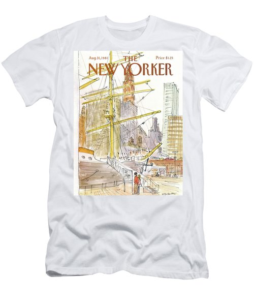 New Yorker August 31st, 1981 Men's T-Shirt (Athletic Fit)