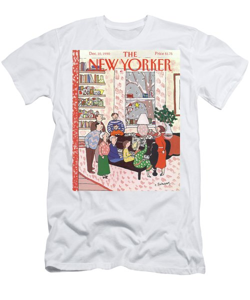 New Yorker December 10th, 1990 Men's T-Shirt (Athletic Fit)