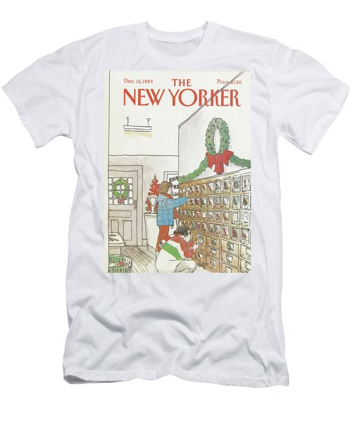 New Yorker December 12th, 1983 Men's T-Shirt (Athletic Fit)
