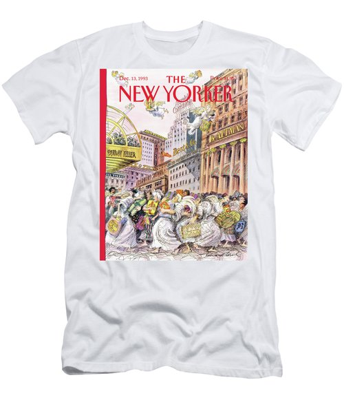 New Yorker December 13th, 1993 Men's T-Shirt (Athletic Fit)