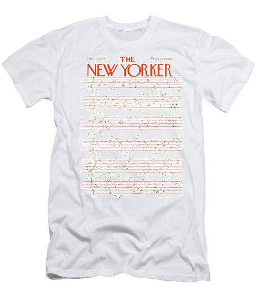New Yorker December 15th, 1975 Men's T-Shirt (Athletic Fit)