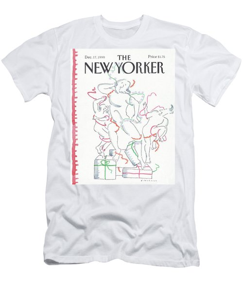 New Yorker December 17th, 1990 Men's T-Shirt (Athletic Fit)