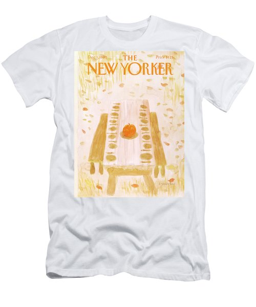 New Yorker December 1st, 1980 Men's T-Shirt (Athletic Fit)