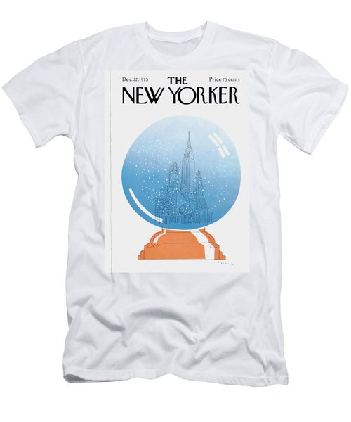 New Yorker December 22nd, 1975 Men's T-Shirt (Athletic Fit)