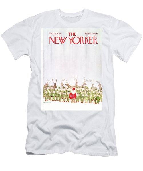 New Yorker December 24th, 1973 Men's T-Shirt (Athletic Fit)