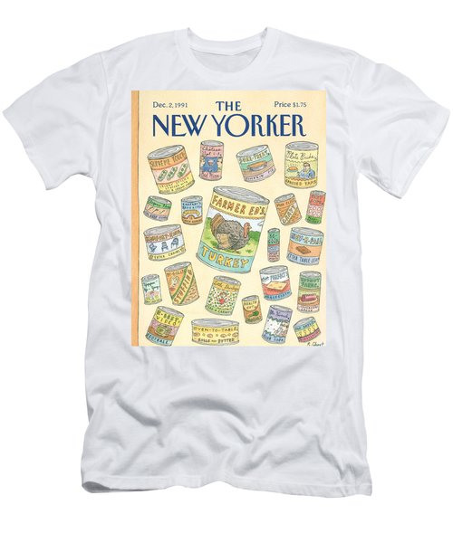 New Yorker December 2nd, 1991 Men's T-Shirt (Athletic Fit)