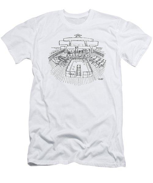 New Yorker December 31st, 1979 Men's T-Shirt (Athletic Fit)