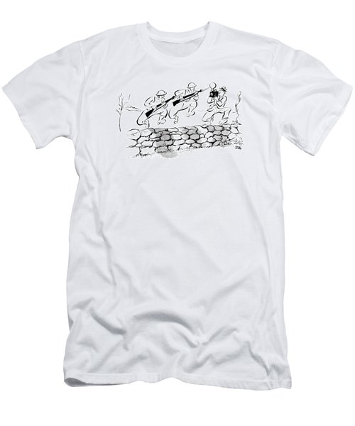 New Yorker December 6th, 1941 Men's T-Shirt (Athletic Fit)