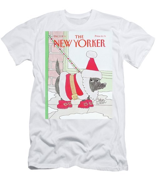 New Yorker December 9th, 1991 Men's T-Shirt (Athletic Fit)