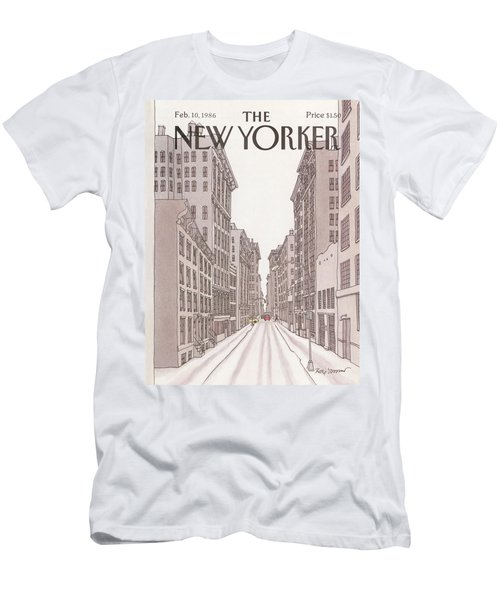 New Yorker February 10th, 1986 Men's T-Shirt (Athletic Fit)