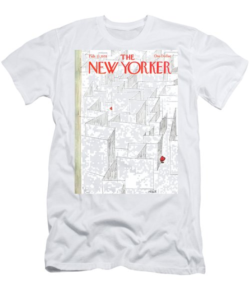 New Yorker February 13th, 1978 Men's T-Shirt (Athletic Fit)