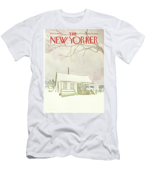 New Yorker February 15th, 1969 Men's T-Shirt (Athletic Fit)