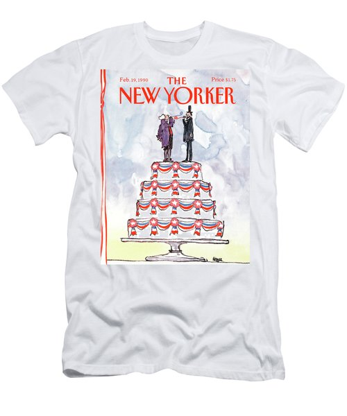New Yorker February 19th, 1990 Men's T-Shirt (Athletic Fit)