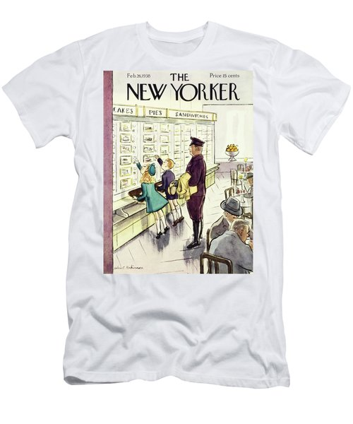 New Yorker February 26 1938 Men's T-Shirt (Athletic Fit)
