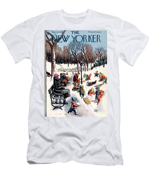New Yorker February 26th, 1955 Men's T-Shirt (Athletic Fit)