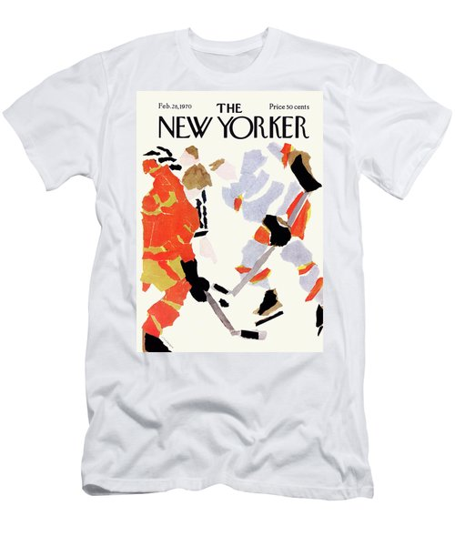 New Yorker February 28th, 1970 Men's T-Shirt (Athletic Fit)