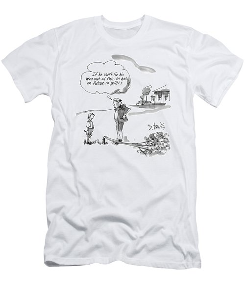 New Yorker February 9th, 1998 Men's T-Shirt (Athletic Fit)