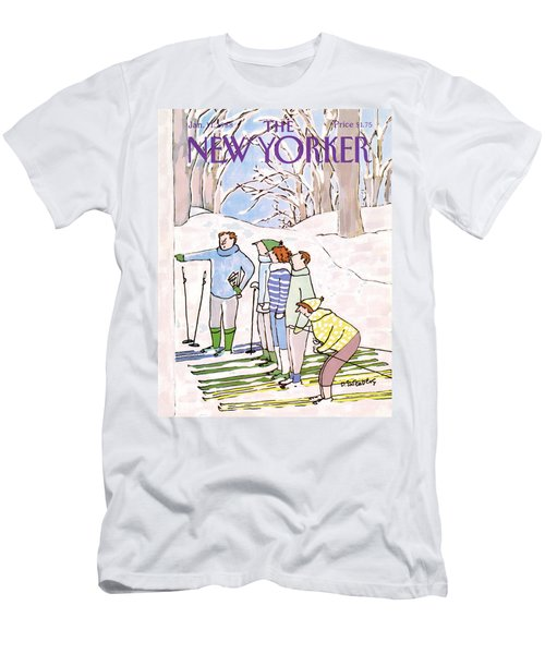 New Yorker January 11th, 1988 Men's T-Shirt (Athletic Fit)