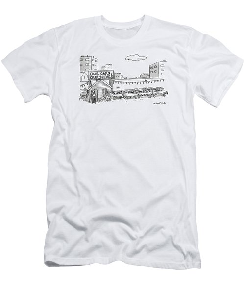 New Yorker January 1st, 1990 Men's T-Shirt (Athletic Fit)