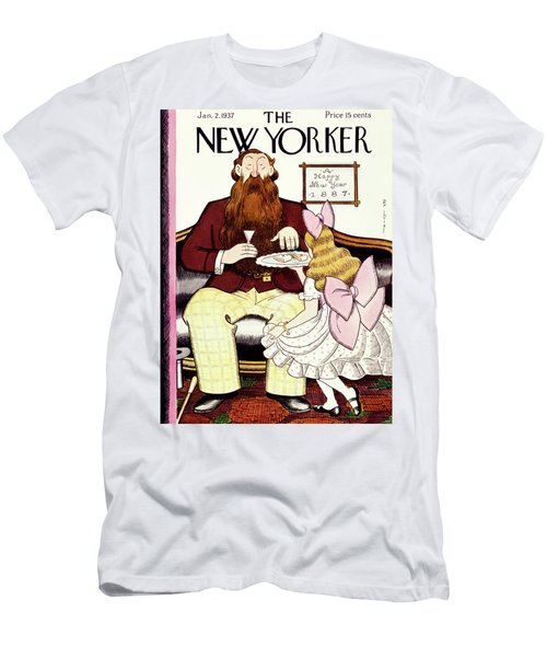 New Yorker January 2 1937 Men's T-Shirt (Athletic Fit)