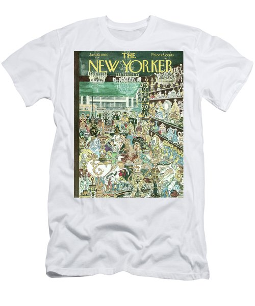 New Yorker January 23rd, 1960 Men's T-Shirt (Athletic Fit)