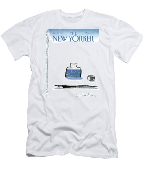 New Yorker January 25th, 1988 Men's T-Shirt (Athletic Fit)