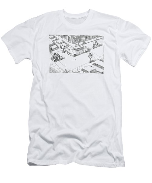 New Yorker January 28th, 1991 Men's T-Shirt (Athletic Fit)