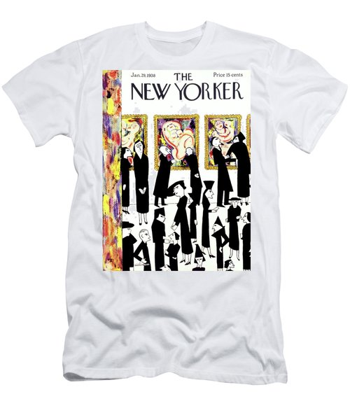 New Yorker January 29 1938 Men's T-Shirt (Athletic Fit)